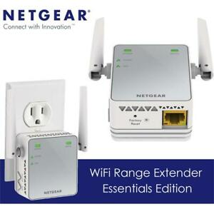 NEW NETGEAR N300 WiFi Range Extender - Essentials Edition (EX2700) Condtion: New, Wall-Plug, N300, Device only