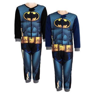 Kinder Schlafanzug  Jumpsuit Overall-Polar- Fleece -***Batman***Gr.98 - 128 NEU