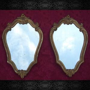 Coppia specchiere stile Luigi Filippo/Rare vintage pair of mirrors ancient style - Italia - Coppia specchiere stile Luigi Filippo/Rare vintage pair of mirrors ancient style - Italia