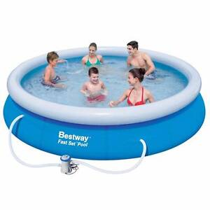 Bestway Above Ground Fast Set Swimming Pool Blue Greenacres Port Adelaide Area Preview