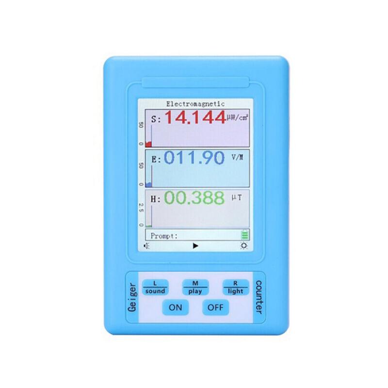 BR-9A Digital Electromagnetic Radiation Detector  Meter Dosimeter Monitor Tester