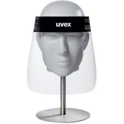 Uvex 9710 PET 9710514 Schutzvisier mit Antibeschlag-Schutz, inkl. Kopfhalterung