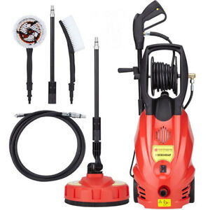 2400W Pressure Washer Jet Wash 165 Bar Pump 2392.5PSI Patio Cleaner + Accessory