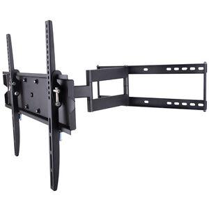 corner 55 tv wall mount ebay. Black Bedroom Furniture Sets. Home Design Ideas