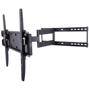Articulating TV Wall Corner Tilt Tilting Mount Bracket 40 42 47 50 52 55 60 65