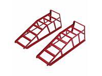 BRAND NEW Hilka Pro-Craft 2 Tonne car ramps