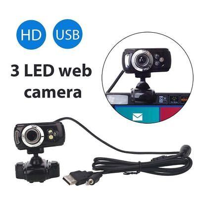 USB 50 Megapixel HD 1080P Kamera Webcam mit MIC Clip-on-360° für Skype PC Laptop (Usb-kamera Skype)