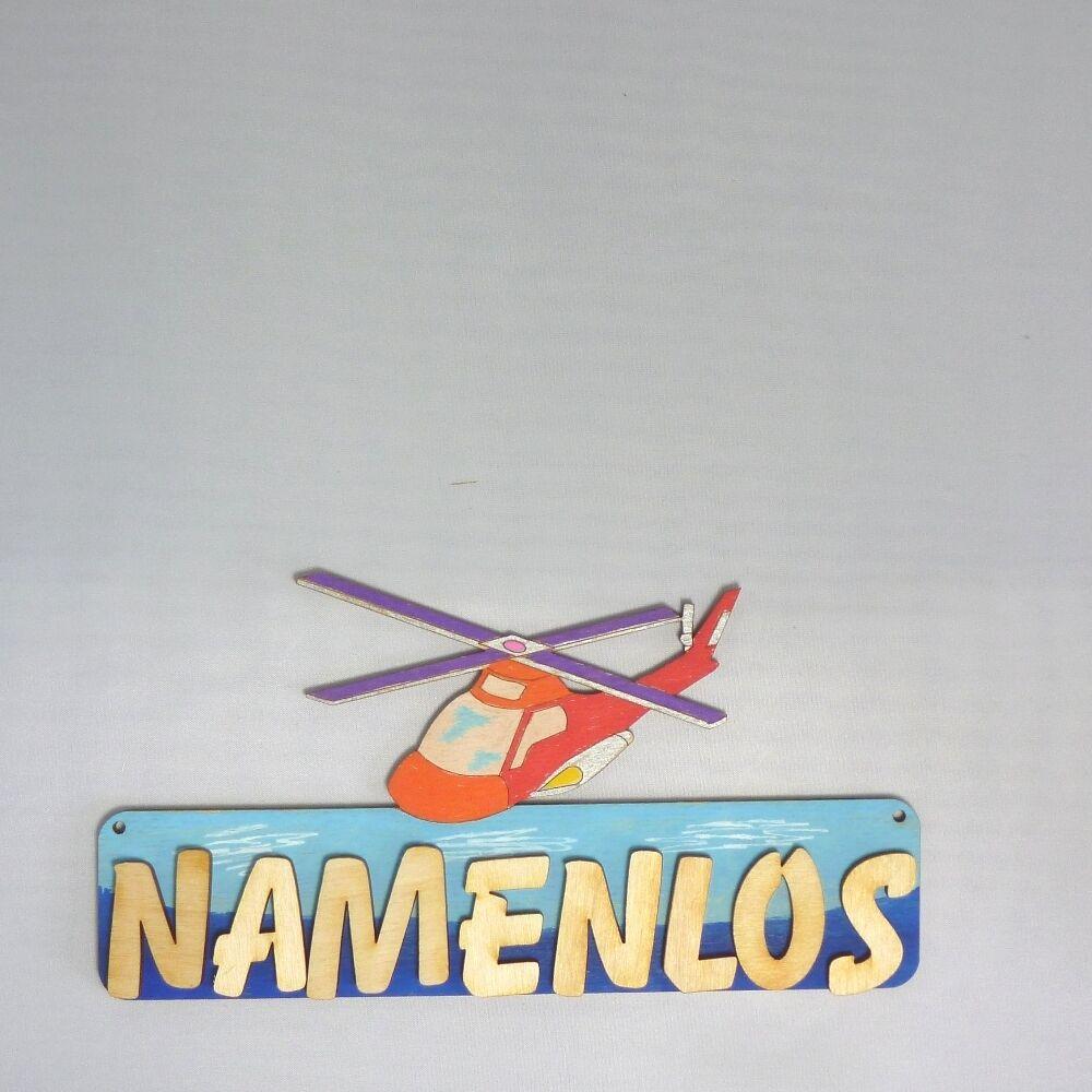 Namensschild Kinderzimmer | Turschild Namensschild Kinderzimmer Farbige Buchstaben 18cm Holz
