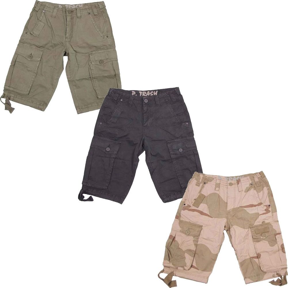 BDU Cargo Shorts in a Digital Camouflage-Tutte le Taglie-Cotone RIPSTOP Combat