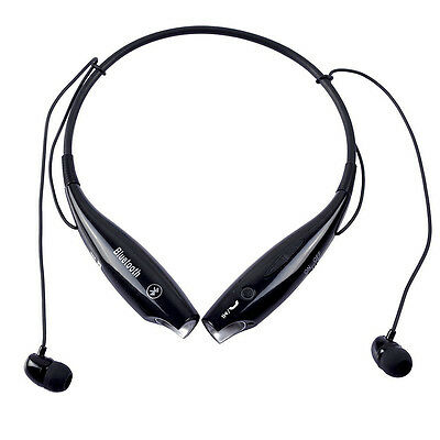Wireless Bluetooth Sport Stereo Earphones Headset for iphone 4 5 6 Samsung LG