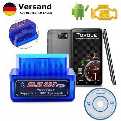 Neu Bluetooth OBD II ELM327 Auto Diagnose Scanner Testgerät für Ford Fiat Honda gebraucht kaufen  Deutschland