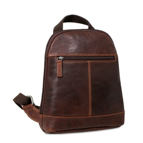 NWT $188 Jack Georges Voyager Mini Convertible Backpack Cros