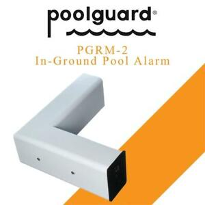 New  Poolguard PGRM-2 In-Ground Pool Alarm, White Condition: New