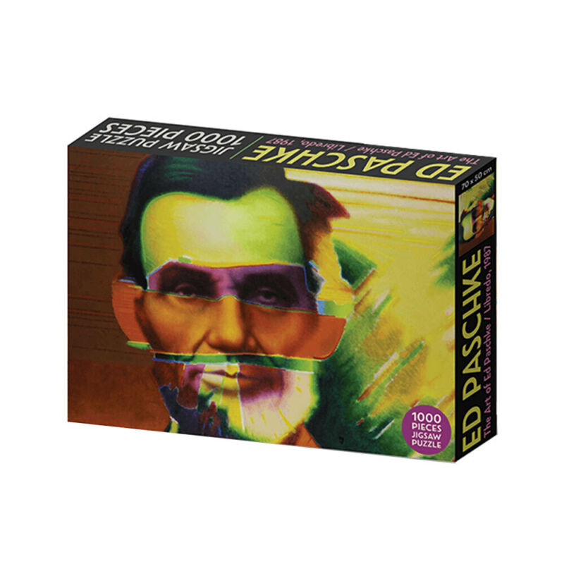 Roadcrates Jigsaw Puzzle Libredo The Art of Ed Paschke 1000 Pieces Game 14y+