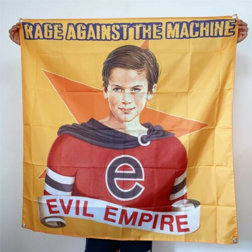 Rage Against The Machine Banner Evil Empire Tapestry Cover Flag Art Poster 4x4ft