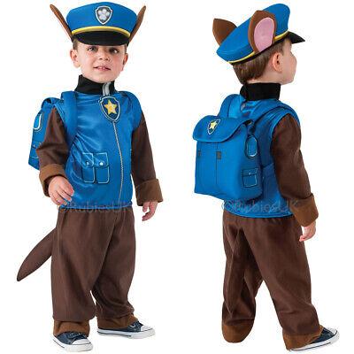 Kleinkind Paw Patrol Chase Kostüm