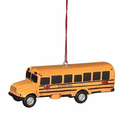SCHOOL BUS Christmas Tree Ornament, 3.5