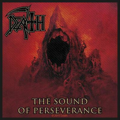 OFFICIAL LICENSED - DEATH - SOUND OF PERSEVERANCE SEW-ON PATCH DEATH METAL