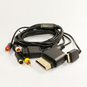 6FT-For-XBOX-360-Component-HD-AV-HDTV-Optical-Cable-Lead-Wire