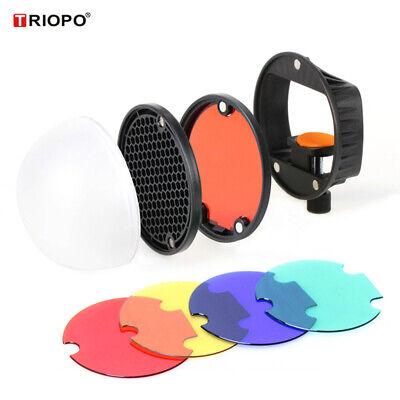 TRIOPO Flash Modifier Accessories Kit for Canon NikonSony Godox Yongnuo W6Y7