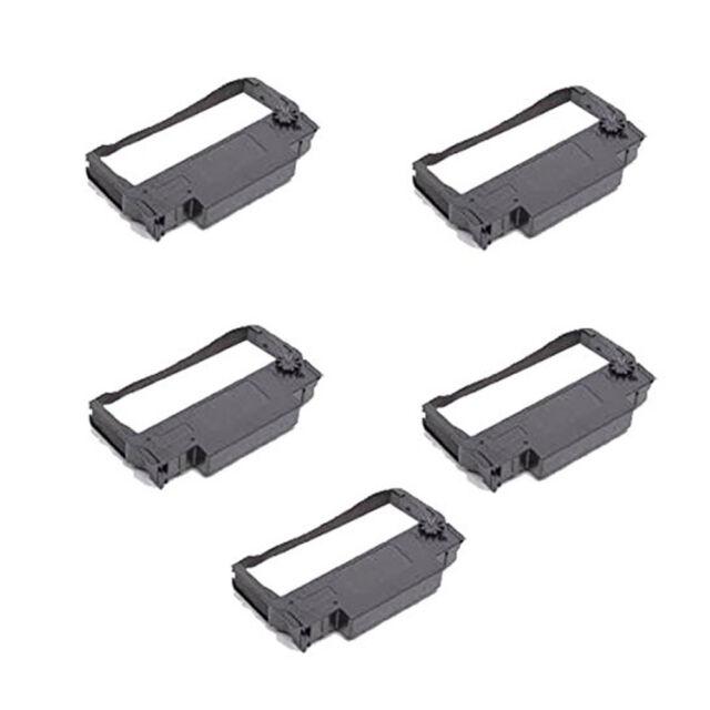 5 Black Ribbon for EPSON ERC30/ 34/ 38 / MICROSAUTOCUT2000/ 4000EPSONTM200/ 260
