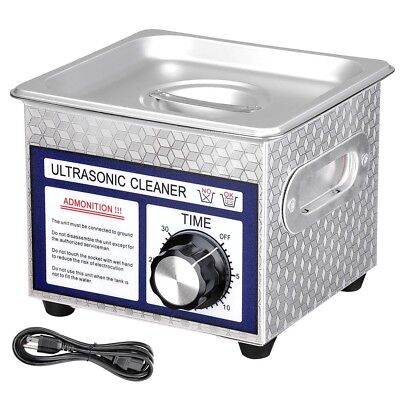 1.3l Industry Digital Ultrasonic Cleaner Jewelry Coins Cleaning Machine Wtimer