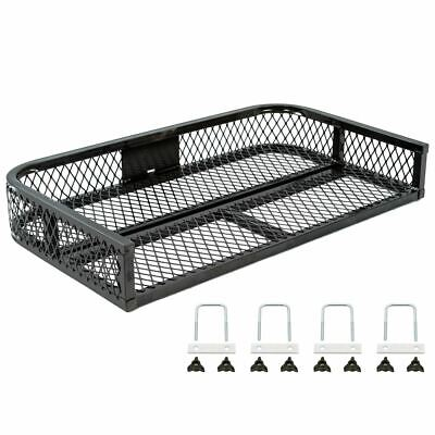 Black Widow ATVRB-3922 ATV Rear Rack Steel Mesh Cargo Basket