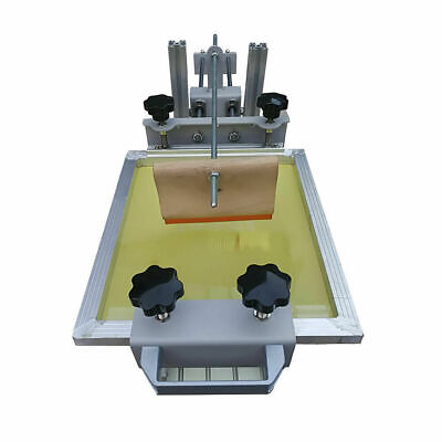 Brand New Manual Cylinder Silk Screen Printing Machine For Penmugcupbottle Us