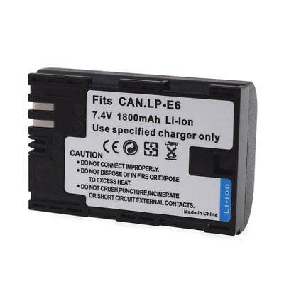LP-E6 Battery for Canon EOS 5D Mark 3 4 IV 6D 7D...