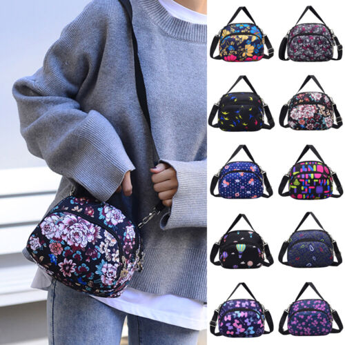 US Women Nylon Shoulder Bag Tote Purse Handbag Messenger Cro