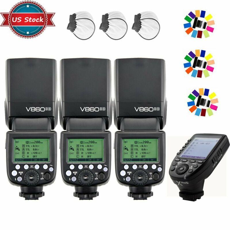 US Godox V860II-S 2.4G TTL Flash Speedlite + XPRO-S Trigger KIT for Sony Camera
