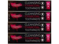 Activated Charcoal Whitening Toothpaste XOC Xpel 100ml x 4