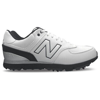 New Balance Nbg 574 Spiked Classic 15 Golf Shoes White/Black - Pick Size & Width