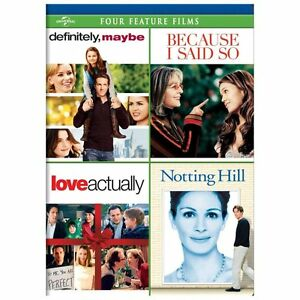 NEW Definitely Maybe/Because I Said So/Love Actually/Notting Hill