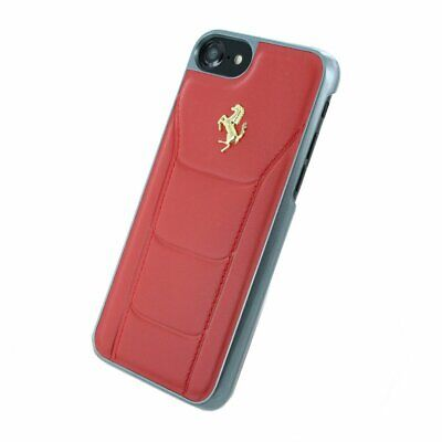 iPhone 7 Ferrari 488 Shock-Absorption Anti-Scratch Hard Case Red Gold Logo