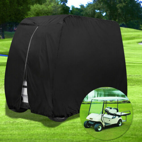 Waterproof Golf Cart Cover 4Passenger Dustproof Storage for