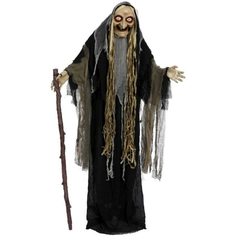 Mark Roberts 2020 Collection Animated Old Witch 5-Foot Figurine