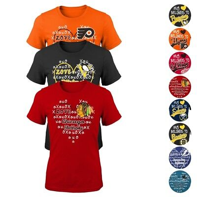 NHL Reebok & Outerstuff Various Graphic T-Shirt Collection G