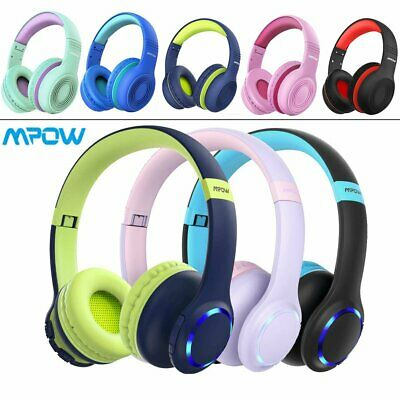Mpow Kids Headphones Over Head Headset Safe Sound 85dB for Baby Child Boys Girls
