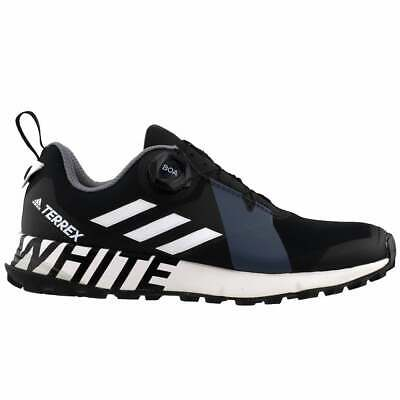 adidas Terrex Two BOA x White Mountaineering Casual Running Shoes Black Mens -
