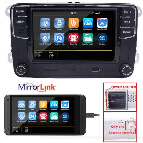 """6,5""""Autoradio RCD330G+,Bluetooth,USB,RVC,AUX,Per VW Golf,Caddy,Polo,Sharan"""