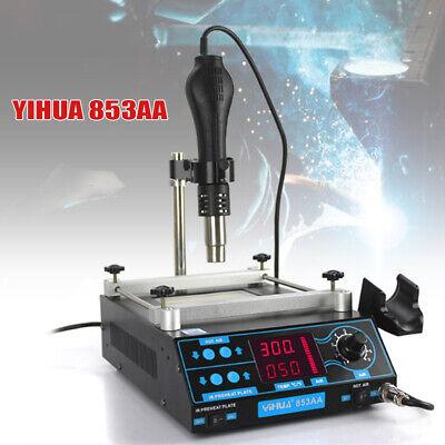 120mm Soldering Bga Smd Adjustable Lcd Rework Station Hot Air Gun Preheater