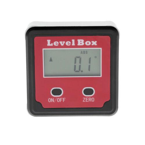 digitale inclinometro livello scatola cassetta attrezzi GONIOMETRO ANGOLARE
