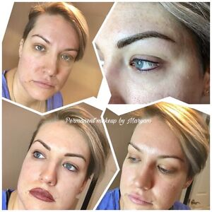 Look amazing with permanent makeup ($50 off of regular price ) Cambridge Kitchener Area image 2