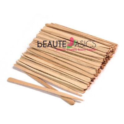 100 Extra Small Wooden Waxing Sticks Eyebrow Sticks Applicators - #PW5011x1 (Eyebrow Waxing)
