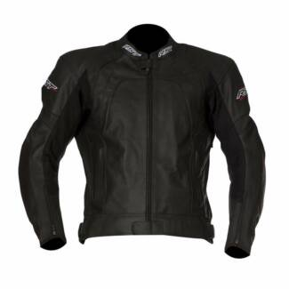 RST Stunt Perforated Leather Motorcycle Jacket