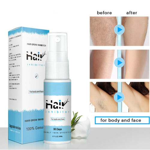Permanent Stop Hair Growth Inhibitor Pubic Hair Repair Spray Facial Hair Remover Hair Removal Creams & Sprays