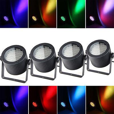 4 X RGB LED DMX DJ Disco Club Stagelampe Bühnenbeleuchtung Licht Strahler Effekt