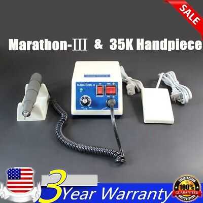 Dental Lab Marathon Micromotor Micro Motor Polishing Handpiece 35000 Rpm