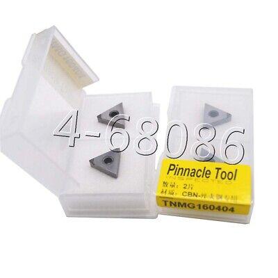2pcs Tnmg160404 Cbn Tnmg331 Diamond Inserts Carbide Insert For Steel Processing